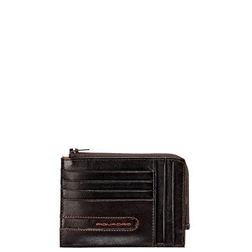 Piquadro Portemonnaie braun/orange