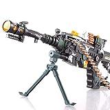 Toyshine Musical Army Style Toy Gun Multi Color (56cm)