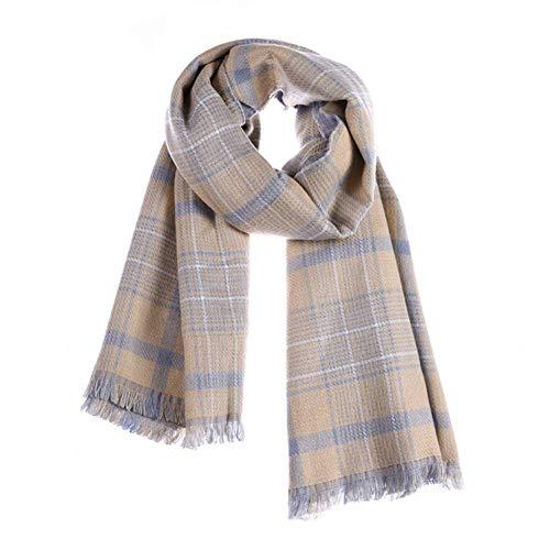 CHENGWJ sjaal sjaal Pocket sjaal voor dames kasjmier wol winter vrouwen sjaals geruite kwast vrouwelijke Pashmina Poncho deken sjaal
