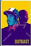WZGJZ Leinwand Bild Outkast Hip Hop Rapper Star Wandkunst