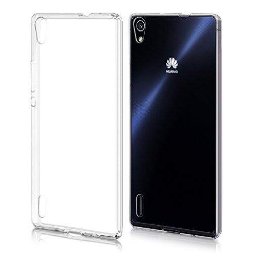 kwmobile Huawei Ascend P7 Hülle - Handyhülle für Huawei Ascend P7 - Handy Case in Transparent
