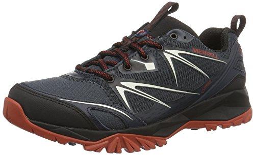 Merrell Capra Bolt Gtx, shoes homme - Noir (Black/navy), 43 EU (8.5 UK)