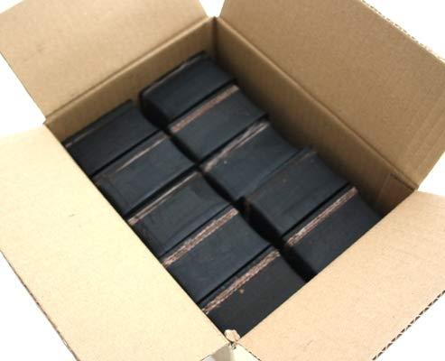90x90x33mm (Karton mit 8 Stück) Gummi-Auflage Unterlage Wagen-Heber Hebebühne eckig Auto Set Unterstellbock Klotz Rangier-Wagenheber Puffer Reifen Reifenwechsel LKW Räder KFZ Tuning Zubehör