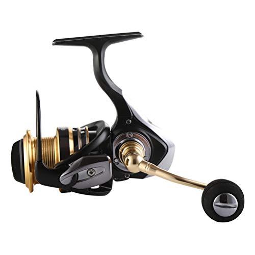 Yousiju 13 + 1 BB Carrete de Pesca Relación de Alta Velocidad Reel Spinning Reel CNC Materia de Metal Carretes de Pesca Rueda de Pesca para Pesca de Carpa (Size : 6000 Series)