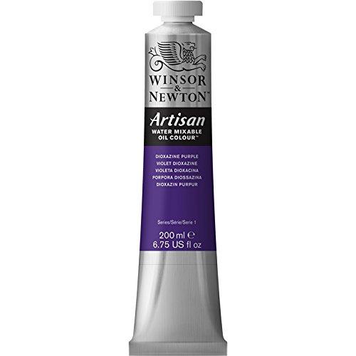 Winsor & Newton Artisan Tubo óleo miscible en agua, 200 ml, color púrpura dioxacina
