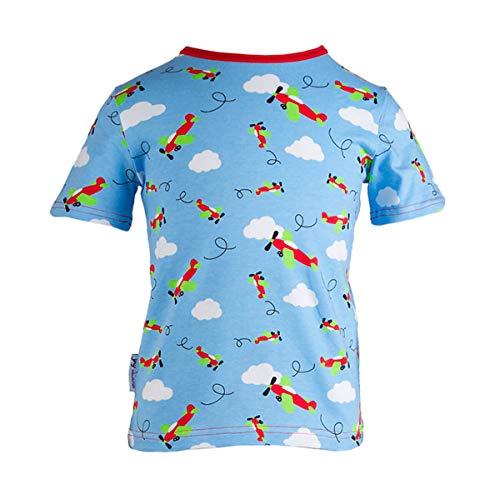 JNY Colourful Kids T-shirt à manches courtes pour bébé Bleu clair - Bleu - 18 mois