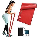 Sportout Fitnessbänder Set, 2m Ultra Lange Gymnastikband,3 Widerstandsstufen Dehnbänder,Resistance...