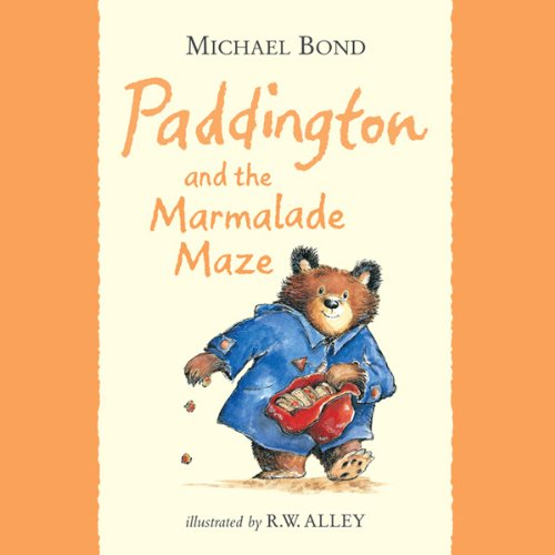 Paddington and the Marmalade Maze cover art