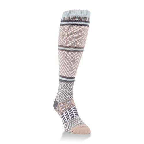 World's Softest Women's Weekend Collection Knit Knee High Socks One Size Fits Most (Savannah)