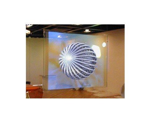 Gowe 1.524 m x 20 m transparente Farbe Rückprojektionsfolie, 3D holografische Projektion Screen Folie/Folie