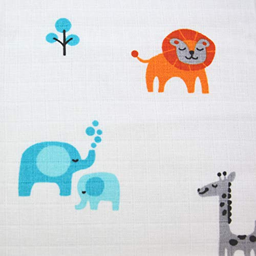 Metergoed mosseline stof vanaf 0,50 m vuilslin Mulltuch Mullwindel 160cm breed katoen leeuw