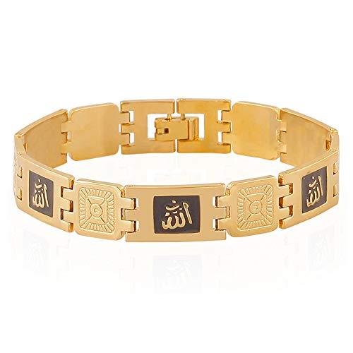 Neue Mode Gold Farbe Muslim Allah Armbänder Für Männer \U0026 Frauen Islam Religion Geschenk \U0026 Schmuck Naher Osten
