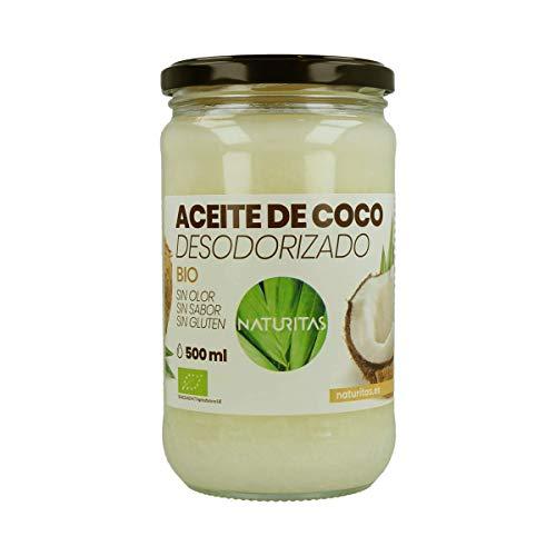 Aceite de Coco Bio (Desodorizado, 500 ml)