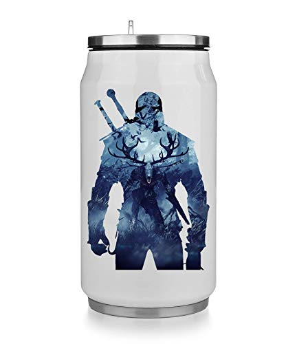 KRISSY The Witcher Background Thermobecher Thermal Beverage Can Thermotasse Thermal Tasse Coffee Mug