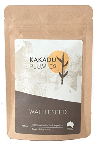 Semillas de ciruela kakadu MaxRelief - Superalimento aborigen australiano - Contiene magnesio, potasio, calcio, hierro, selenio y zinc - Usar como sustituto del café - 1,8 oz.