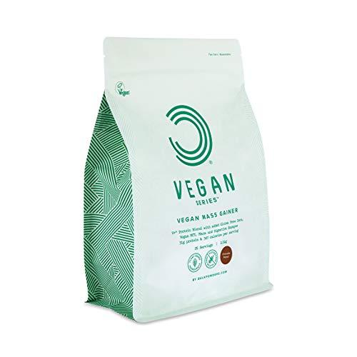 BULK POWDERS Veganes Masseaufbau, Mass Gainer, Weight Gainer, Schoko-Erdnuss 2,5 kg