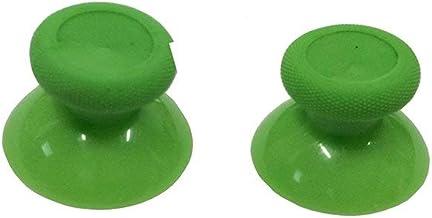 OSTENT 6 x tampas analógicas coloridas de substituição compatíveis com controle Microsoft Xbox One – cor verde