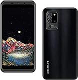 Telefon, entsperrt, 4G, Smartphone, entsperrt, 16 GB RAM + 2 GB ROM, Android 9.1 Smartphone, 5,5 Zoll Display, Dual SIM, 3600 mAh, 8 MP / 5 MP, Handy nicht teuer ohne Vertrag (schwarz)