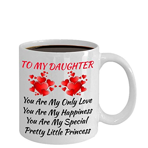 Best Surprise Birthday Gifts for Daughter Women Her Family - Customized Personalized - Love My Daughter Color Changing Magic Coffee Mug