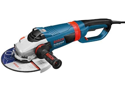 Bosch Professional Winkelschleifer GWS 26-230 LVI (2.600 Watt, Scheiben-Ø 230 mm, SDS-Schnellspannmutter, Wiederanlaufschutz, KickBack Control, im Karton)