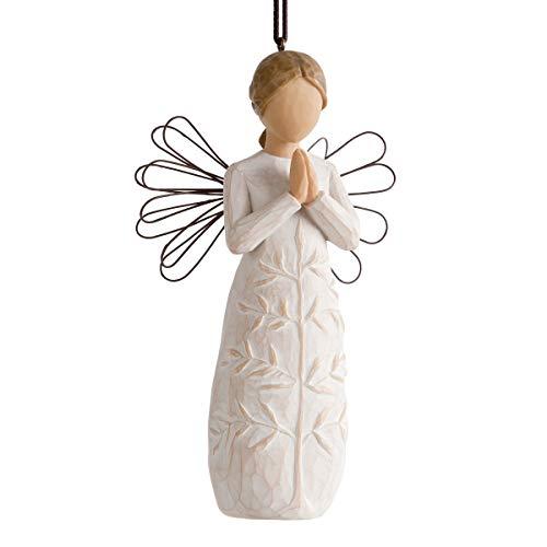 Willow Tree 26191 Figurina Un Albero, Una Preghiera, Resina, Design di Susan Lordi, 10 cm