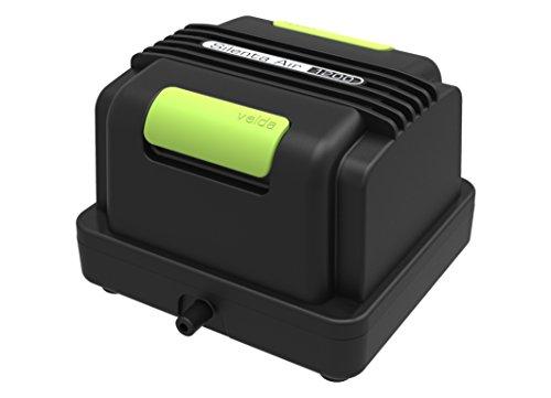 velda Silenta Pro Teichbelüfter 1200 l/h 125080   Professionelles Belüftungsset für Teiche bis 3000 Liter, 15 Watt, Silenta Pro Air 1200   Wetterfest   Sauerstoffpumpe für Teiche   Teichbelüftung