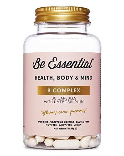 Be Essential - B Complex: vitaminas del grupo B con Ciruela umeboshi ayuda a regular el ph del organismo