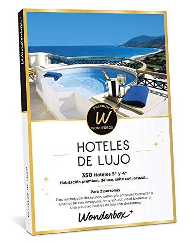 WONDERBOX Caja Regalo - HOTELES Dos Noches con Desayuno y Cena o Actividad Bienestar o más Opciones a Elegir Entre 140 hoteles de 4* y 5* para Dos Personas