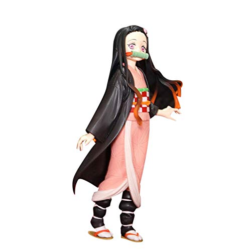 Nikula Modelo De Personaje De Anime Kamado Tanjiro Lindo Y Genial Kamen Nidouzi Boca Plana Inosuke Kizuna Figura De Personaje Anime Marioneta Personaje Juguete Decoración Cost-Effective