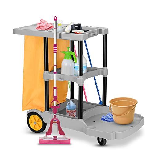COSTWAY -   Reinigungswagen mit