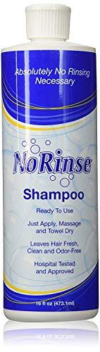 No-Rinse Shampoo, 16 fl oz - Leaves Hair Fresh, Clean and Odor-Free (Pack of 2)