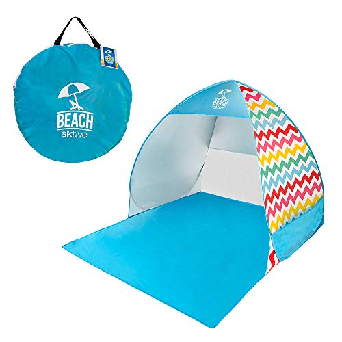 AKTIVE 62164 - Tienda de playa Pop Up multicolor UV50 AKTIVE Beach