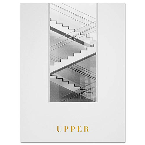 HHBACE-Póster Modern Wall Art Lienzo Pintura Flatiron Building Landscape Fire Escape Poster and Prints Living Room Mural 40x50cm sin Marco Foto 3