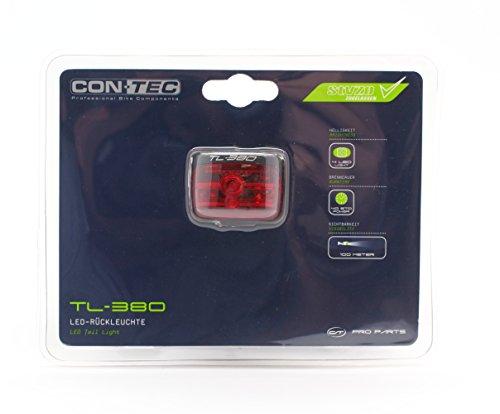 Contec TL380 Batterie R�ckleuchte LED