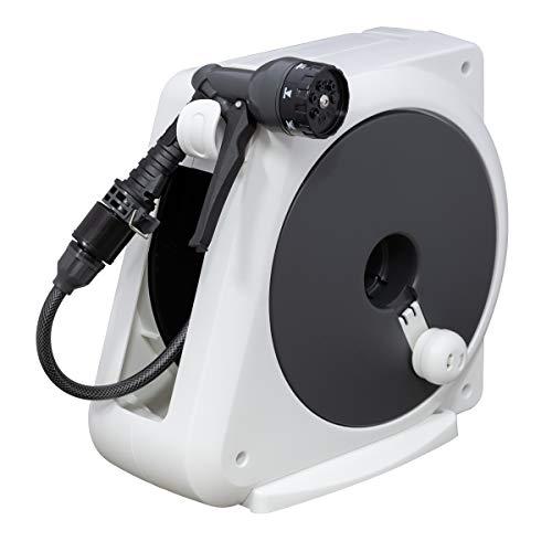 【Amazon.co.jp限定】WATER GEAR(ウォーターギア) ホース ホースリール オーロラnano 15m RM215WG コンパクト 安心の2年間保証