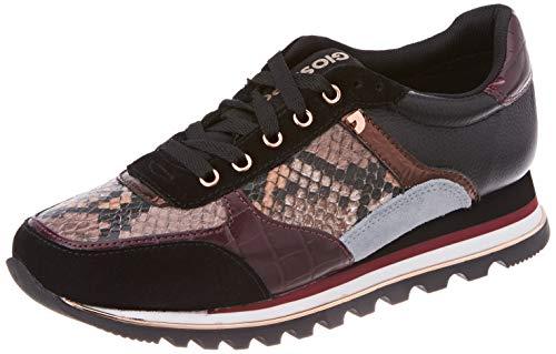 GIOSEPPO Oryol, Zapatillas Mujer, Burdeos, 41 EU