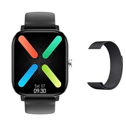 VBF Smart Watch, DT36, 1,75 Pulgadas De Hombres 420 * 485, Llamadas Bluetooth, Monitor De Ritmo Cardíaco Fitness Tracker Fashion Sports Sports Soporte Android iOS,A