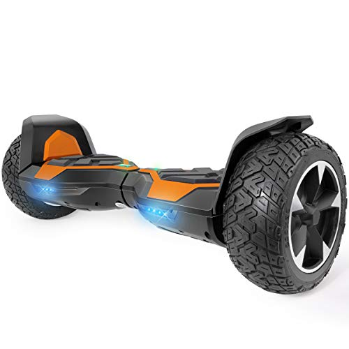 Best Prices! XtremepowerUS 8.5 Inch Off-Road All Terrain Self-Balancing Hoverboard LED Scooter UL Ce...