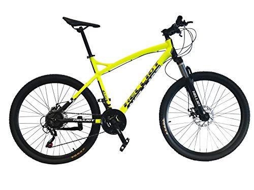 Helliot Bikes Merlion Bicicleta de montaña, Adultos Unisex, Azul, M-L