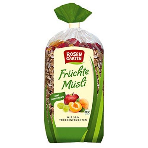 Rosengarten Früchte-Müsli (750 g) - Bio