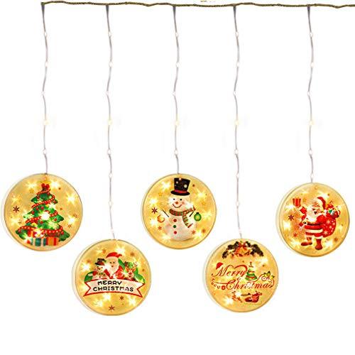 Navidad Luces De Cadena De Hadas,Impermeable Decoraciónación Guirnalda Luces,Usb Powered Para El Festival Partido Interior Exterior Día Festivo Decoración