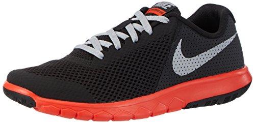 Nike Flex Experience 5 GS, Scarpe da Corsa Bambino, Nero (Black/Wolf Grey/Max Orange), 38.5 EU