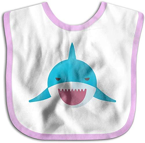 Linda toalla de saliva para recién nacidos, ideal para niños y niñas, color rosa