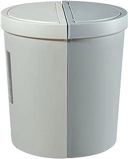 Trash Can المطبخ 30L الربط القمامة يمكن أن تغطي القمامة الكبيرة يمكن فرز القمامة دفع سلة المهملات المنزلية المثبتة على الحائط