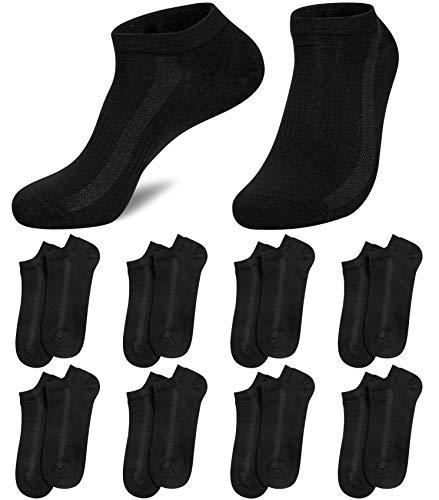 8 Paires Chaussettes Homme Socquettes Sport Coton Basses Chaussettes Respirant Homme Courtes pour Courir, La Randonnée, La Marche