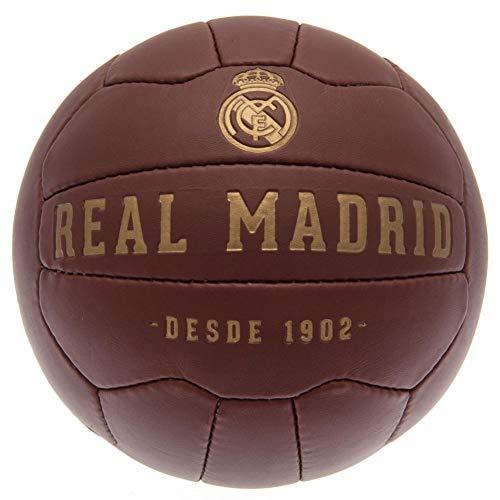Real Madrid CF - Balón de fútbol modelo Retro Heritage