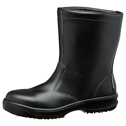 ミドリ安全 安全靴 半長靴 超耐滑底 ハイグリップセフティ HGS540 静電 ブラック 24.0cm