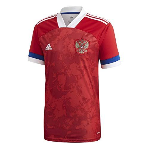 adidas 2020-2021 Russia Home Football Soccer T-Shirt Jersey