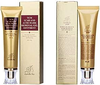 Wisdompark Acne Scar Removal Cream Skin Repair Face Cream Acne Spots Acne Treatment Blackhead Whitening Cream Stretch Marks 30ml (2pcs)