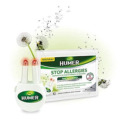Humer Stop Allergies - Dispositif de photothérapie intranasal -...